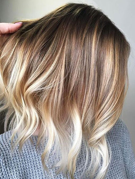 Popular-Balayage-Hair-Color-Ideas-026-ohfree.net_ Popular Balayage Hair Color Ideas for Short Hair