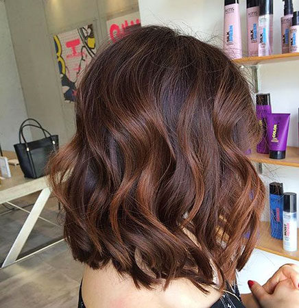 Popular-Balayage-Hair-Color-Ideas-029-ohfree.net_ Popular Balayage Hair Color Ideas for Short Hair