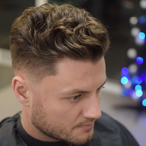 Quiff 10 Best hairstyles for men with thick hair 2020
