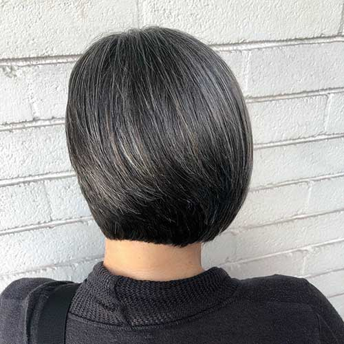 Short-Black-Bob-Hair Super Short Haircuts for Women