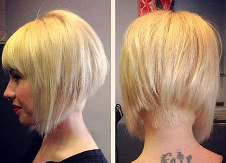 Short-Different-Light-Blonde-Bob 25 Blonde Bob Haircuts