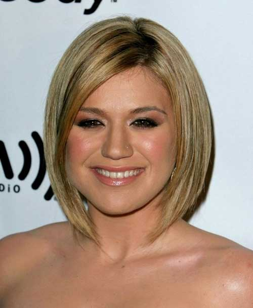 Short-Gorgeous-Blonde-Bob Best Short Bobs for Ladies with Round Faces