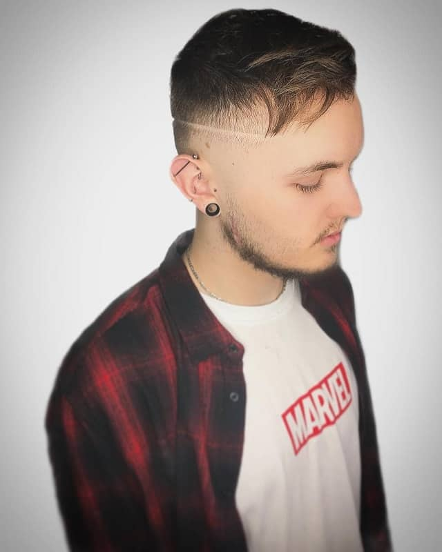 Short-Quiff-with-Fade Most Trendy Looks of Short Fade Haircuts