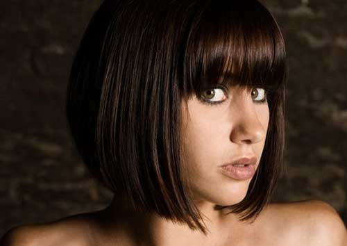 Short-Sexy-Appealing-Bob Best Short Bobs for Ladies with Round Faces