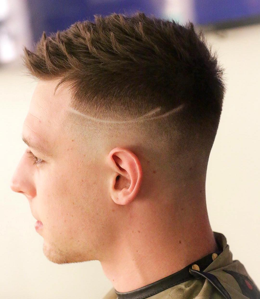 Short-Spiky-Hairstyle- Modern Hairstyles for Men to Look Awesome