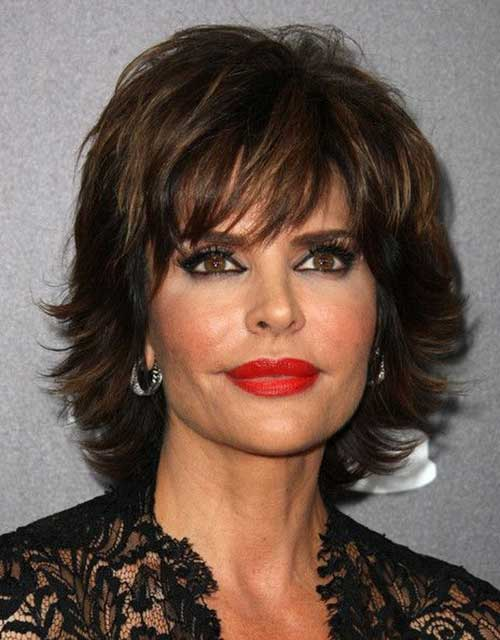 Short-Trendy-Hairstyle-for-Over-50 20 Awesome Short Haircuts for Older Women
