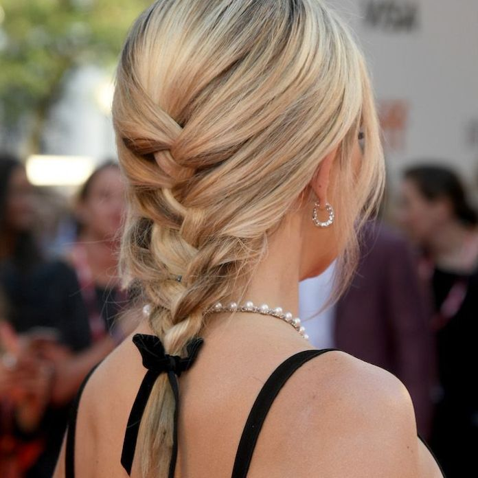 Simple-Medium-Length-Braid-Hairstyle Most Amazing Medium Braided Hairstyles