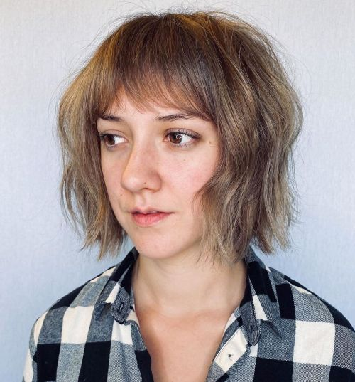 Soft-Textured-Hair 12 Flattering Chin-Length Hairstyles You Need to Try