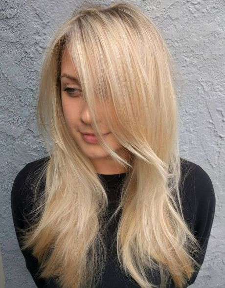 Straight-Hair-with-Multiple-Layers 12 Stunning Hairstyles for Long Fine Hair