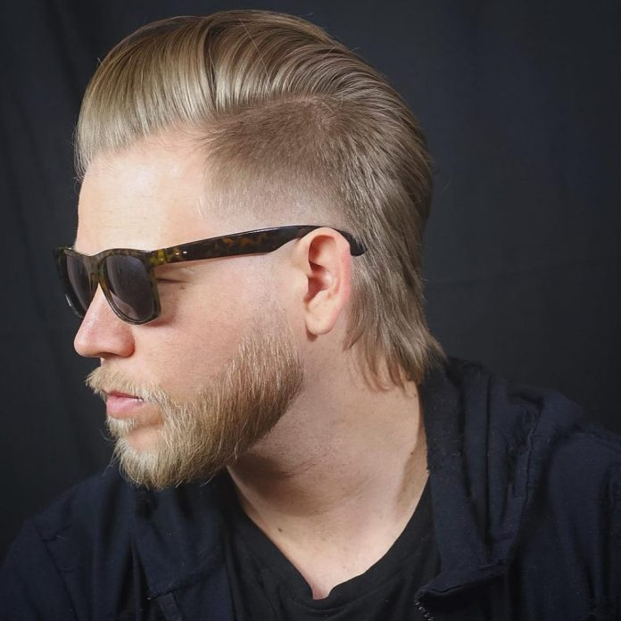 Temple-Fade-Blonde-Haircut Modern Hairstyles for Men to Look Awesome