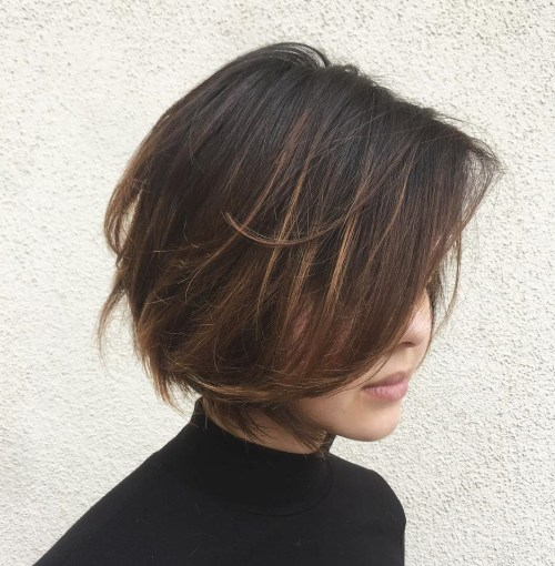 Textured-Messy-Bob-Cut. 15 Hottest bobs hairstyles to try in 2020