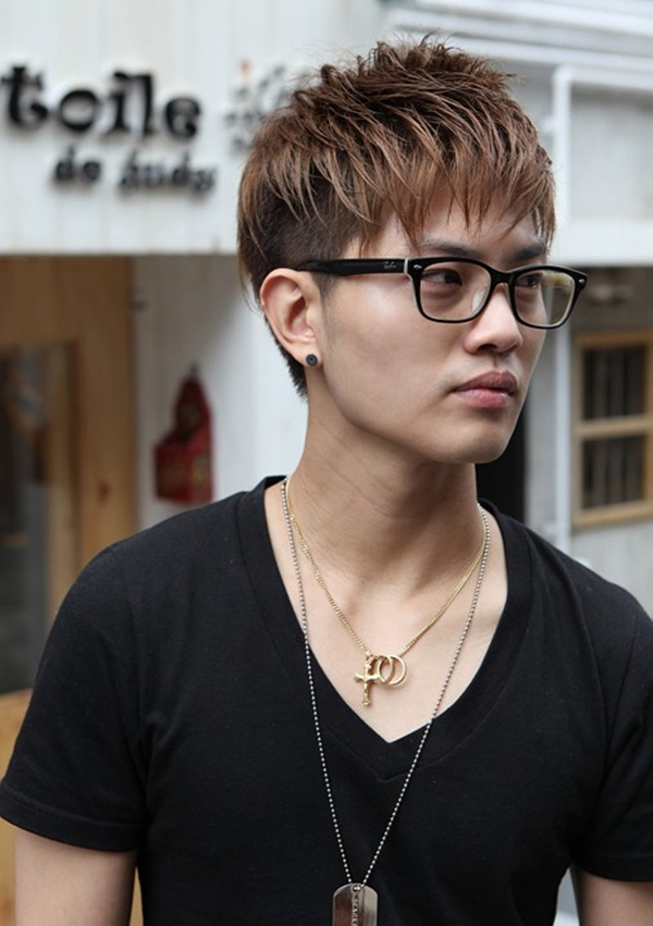 The-Wild-Hairstyle Dashing Korean Hairstyles for Men