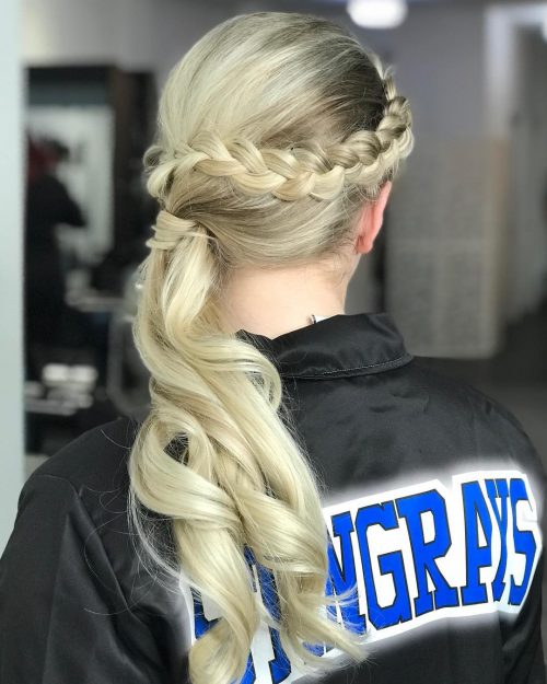 braided-side-pony 10 Gorgeous Prom Hairstyles For Long Hair