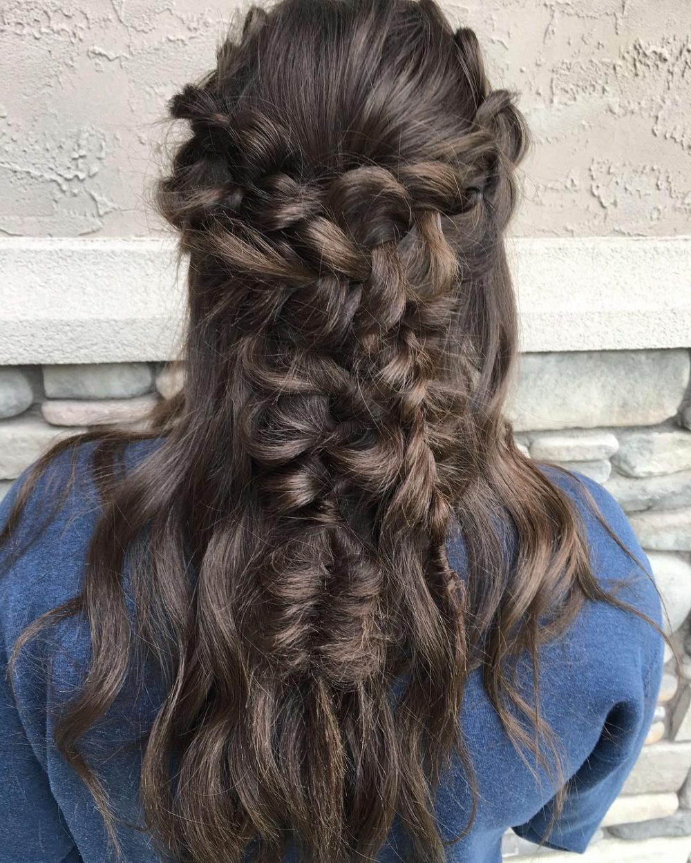 flower-child-prom-long 10 Gorgeous Prom Hairstyles For Long Hair