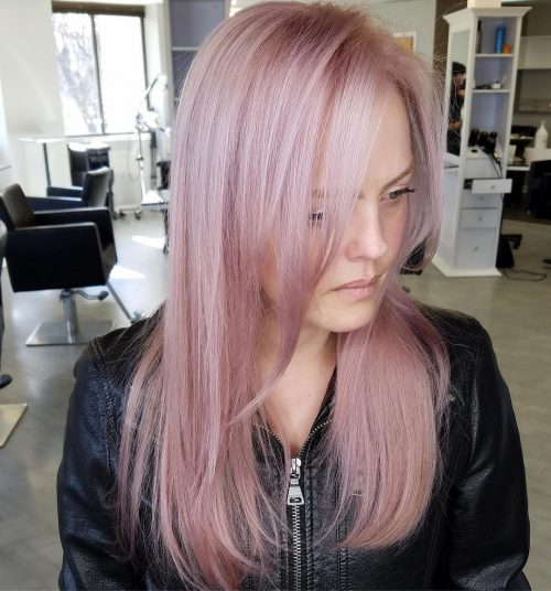 platinum-perfection-rose-gold Best rose gold hair color ideas