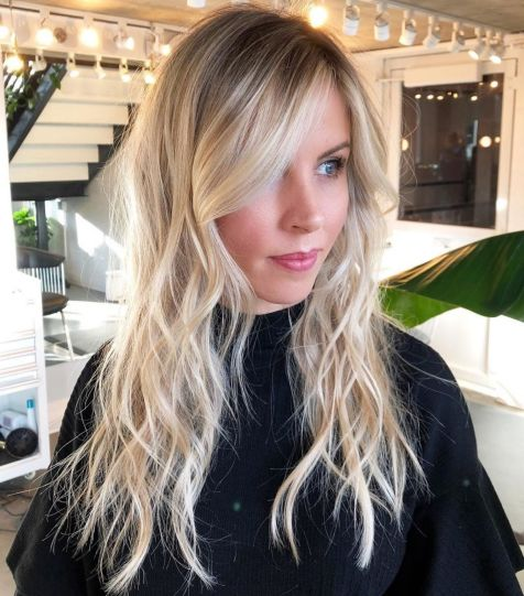 rispy-Blonde-Shag-for-Long-Fine-Hair 12 Stunning Hairstyles for Long Fine Hair