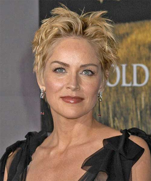 short-haircut-adopt-this-spiky-style Beautiful Short Haircuts for Older Women