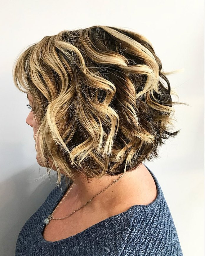 soft-and-blended 10 youthful and stylish short hairstyles for women over 40