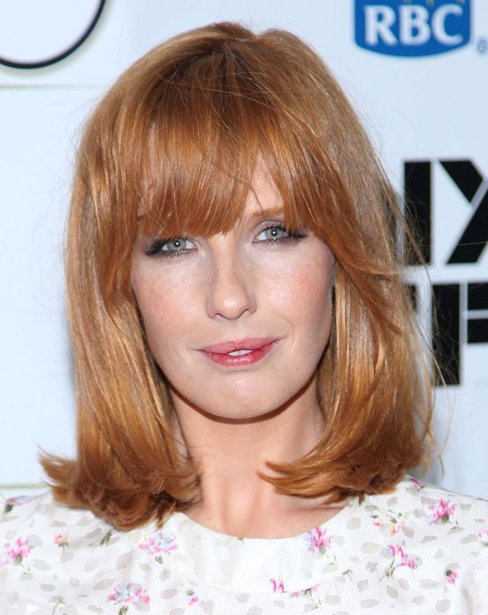 Auburn-Hair-with-Bangs How to Choose the Best Haircut for Your Face Shape