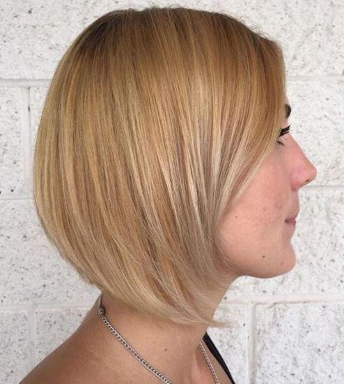 Blonde-Hair-Balayage 14 Trendy Balayage Short Hairstyles