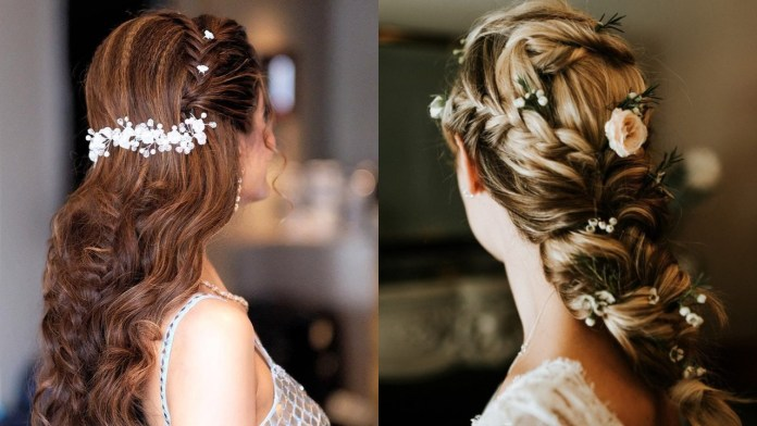 Bridal-Hairstyles-for-an-Elegant-Look 21 Bridal Hairstyles 2020 for an Elegant Look