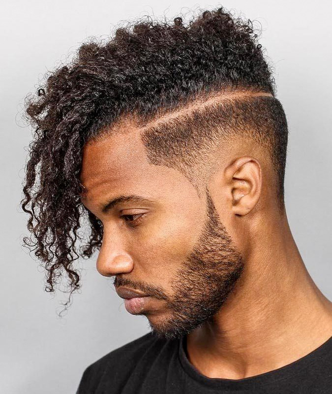 Burst-Fades-Mohawk Drop Fade Haircut for an Ultimate Stylish Look