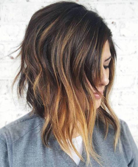 Caramel-Toned-Short-Balayage 14 Trendy Balayage Short Hairstyles