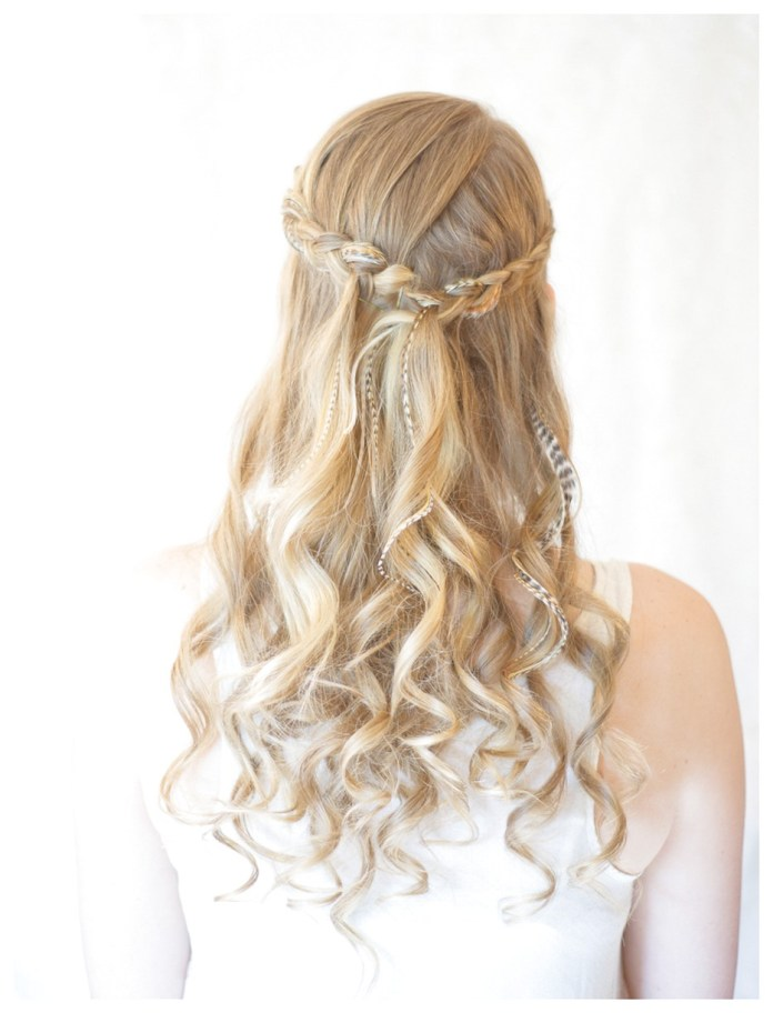 Effortless-and-Luxurious-Half-Updo 25 Prom Hairstyles 2020 for an Exquisite Look