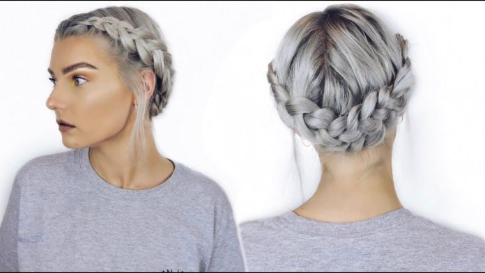 Elegant-Icy-Braid 21 Halo Braids to Uplift Your Overall Appearance