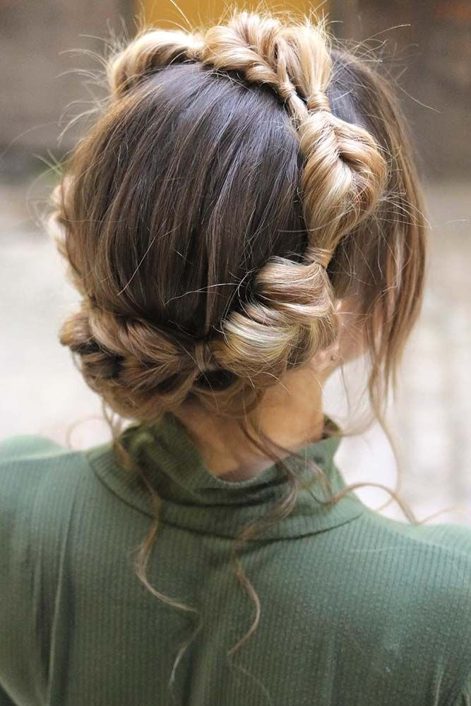 Fancy-Braids-Round-Crown 21 Halo Braids to Uplift Your Overall Appearance
