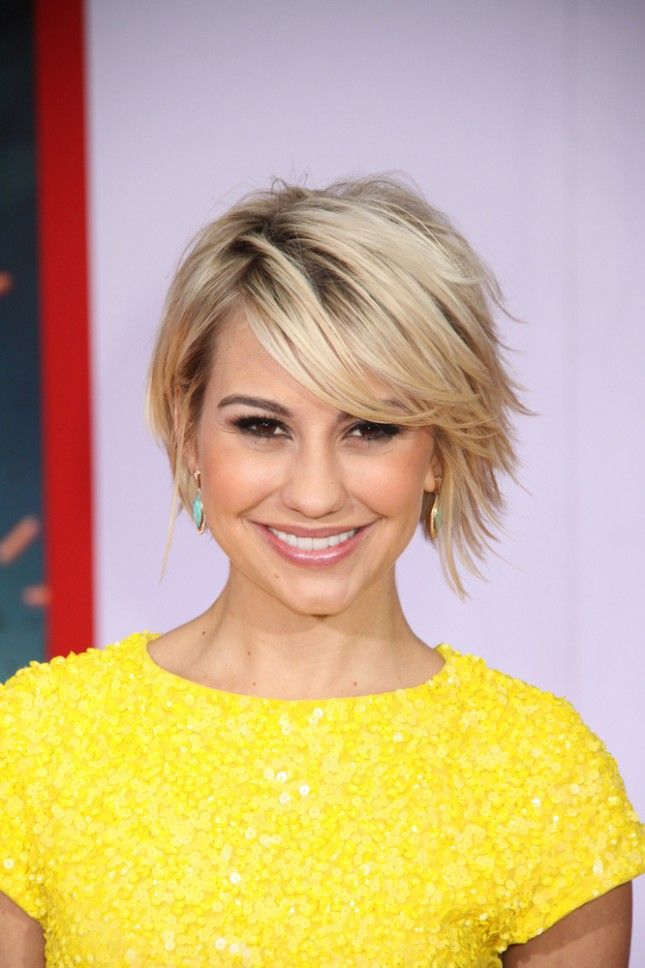 Golden-Glossy-Gradual-Hairstyle 20 Short Layered Hairstyles to Look Beautiful