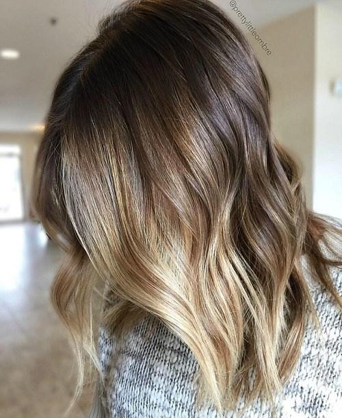 Handpainted-Blonde-Hair 14 Best Bronde Hair Options in 2020