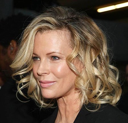 Kim-Basinger-Hairstyle Best Short Curly Hairstyles for Women Over 50