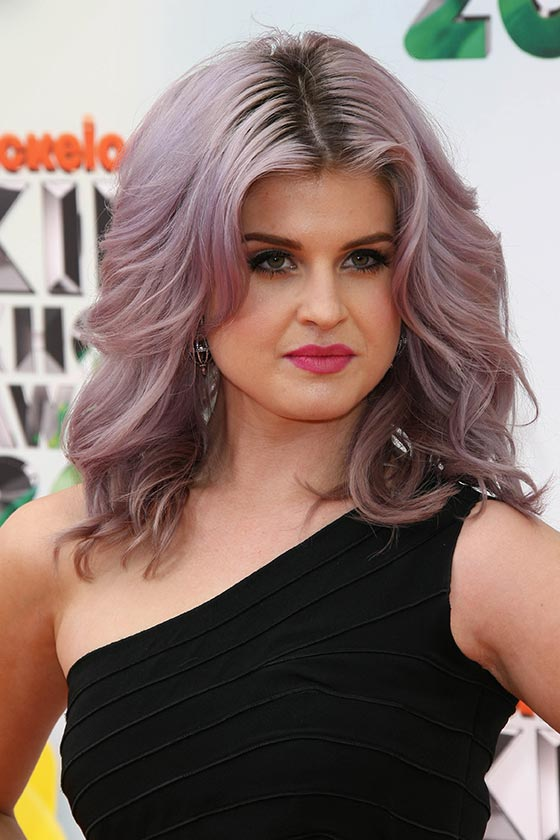 Lavender-Waves-and-Short-Bob 25 Stupendous Hairstyles for Round Faces