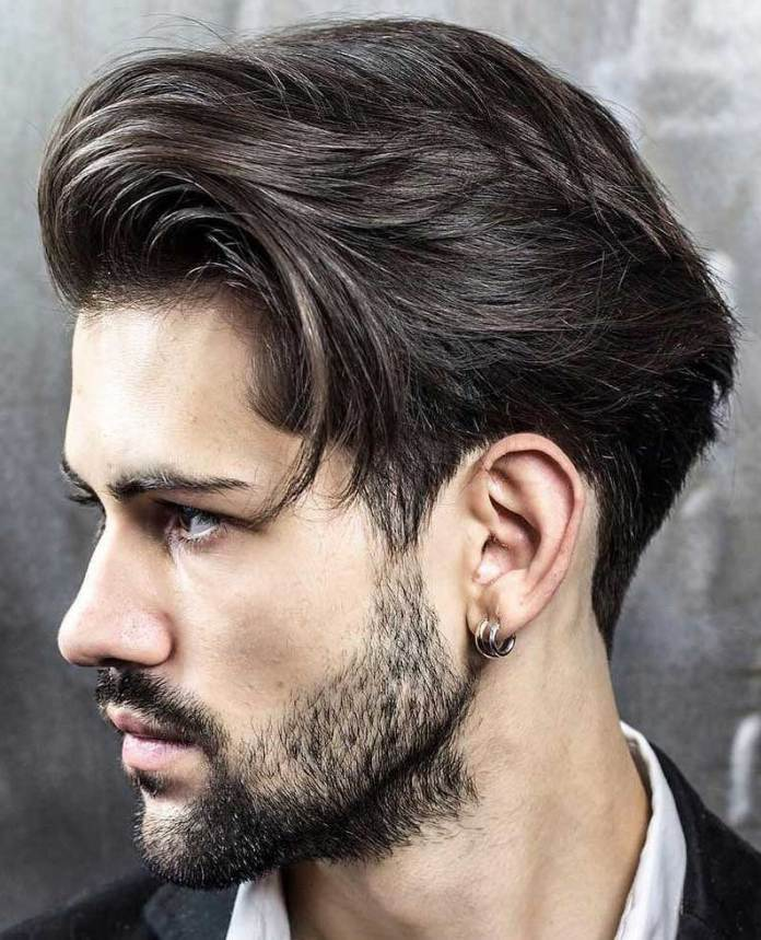 Layered-Quiff-Cut-with-Faded-Sideburns 25 Quiff Hairstyles for Ultra Modern Look