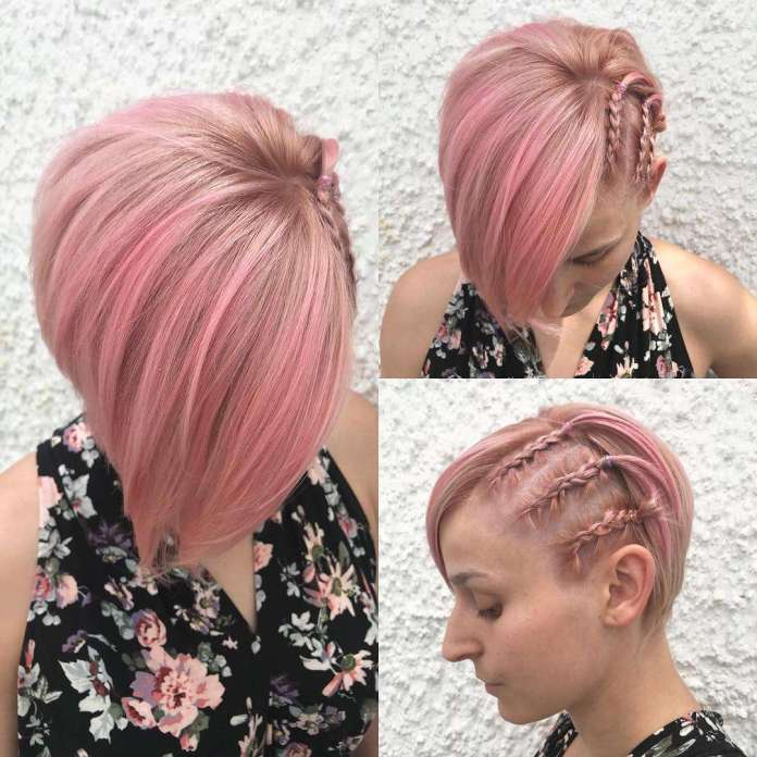 Light-Peach-and-Pink-Tones 21 Hair Color Trends 2020 to Glam Up Your Tresses
