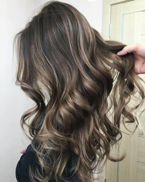Long-Hair-with-Ash-Bronde-Color 14 Best Bronde Hair Options in 2020