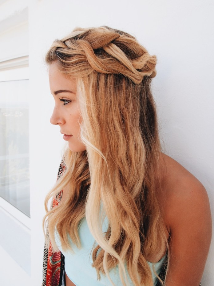Loose-Halo-Braid 21 Halo Braids to Uplift Your Overall Appearance