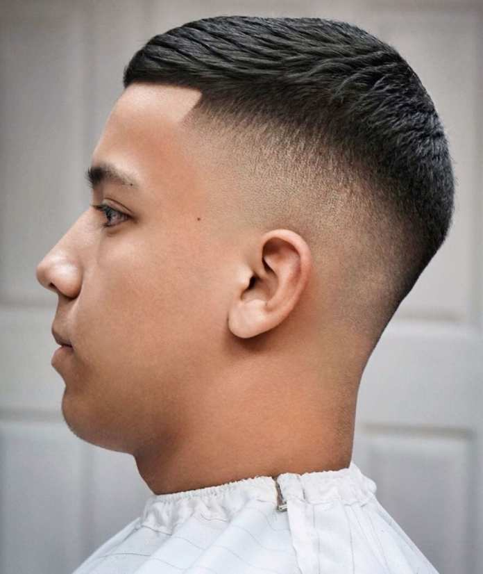 Low-High-Drop-Fade-Haircut Drop Fade Haircut for an Ultimate Stylish Look