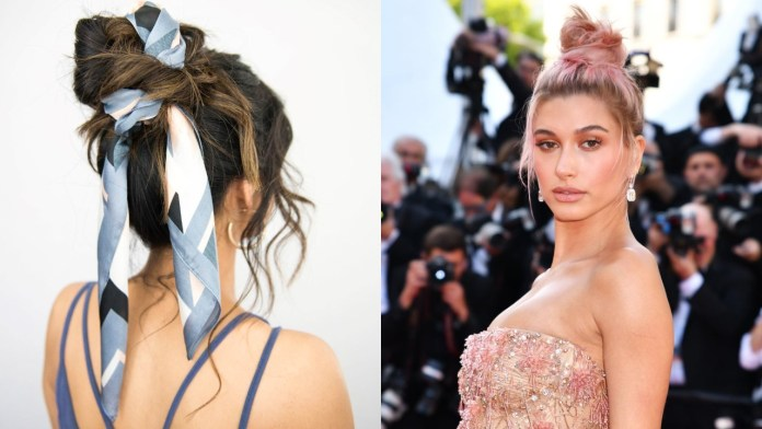 Messy-Bun-1 Messy Bun Hairstyle is the New Style to Enhance Your Look