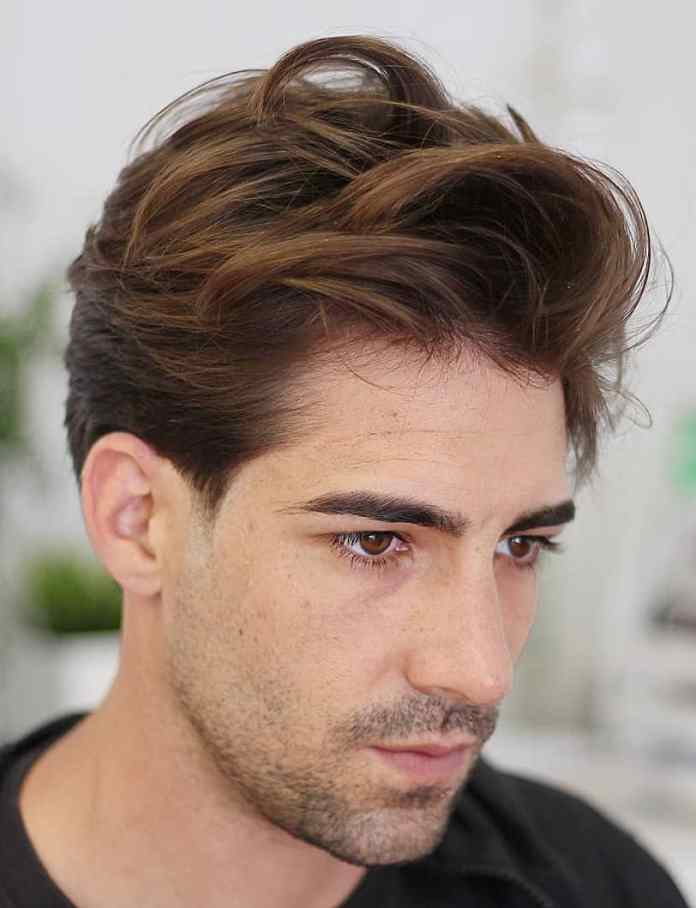 Messy-Two-Tone-Quiff 25 Quiff Hairstyles for Ultra Modern Look