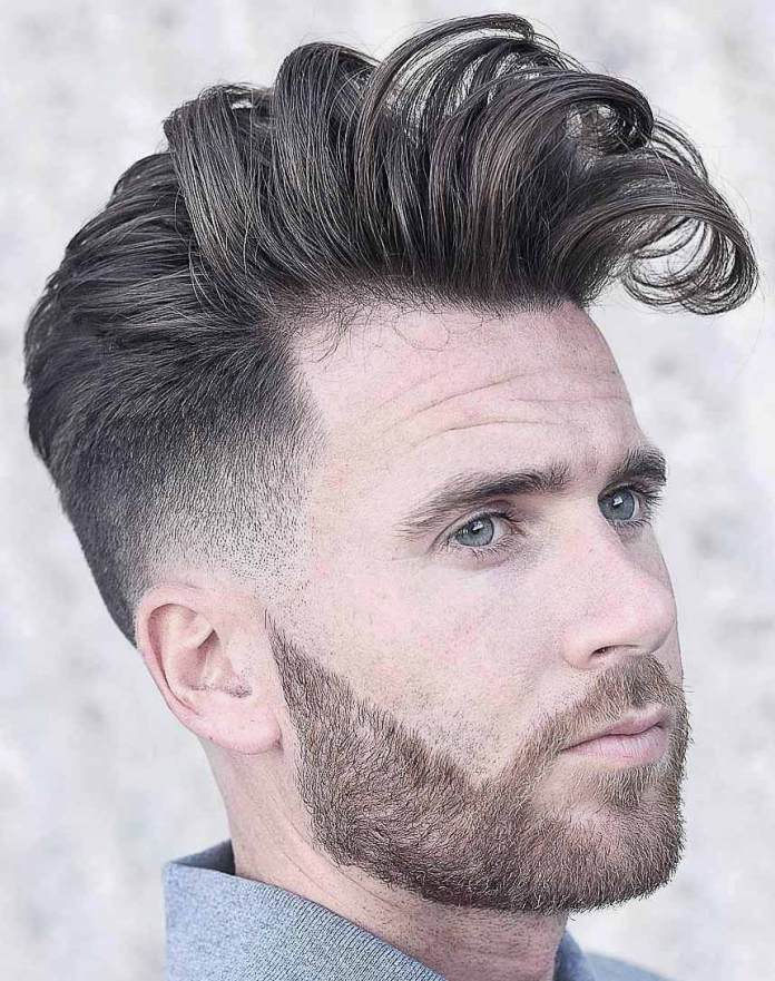 Modern-Ruffled-Side-Quiff-Haircut 25 Quiff Hairstyles for Ultra Modern Look