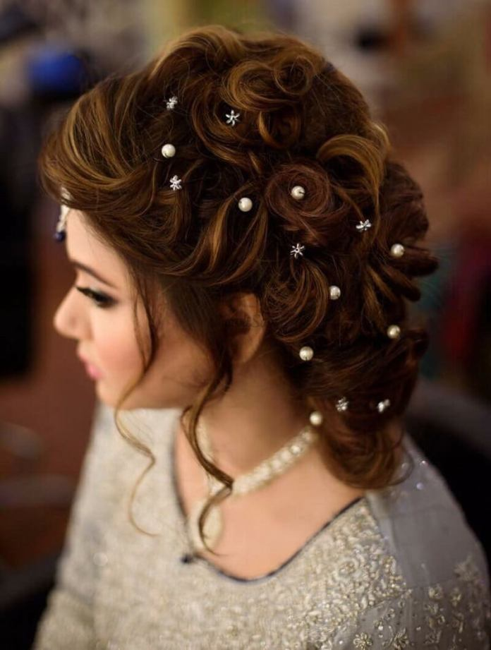 Multiple-French-Braided-Bun 21 Bridal Hairstyles 2020 for an Elegant Look