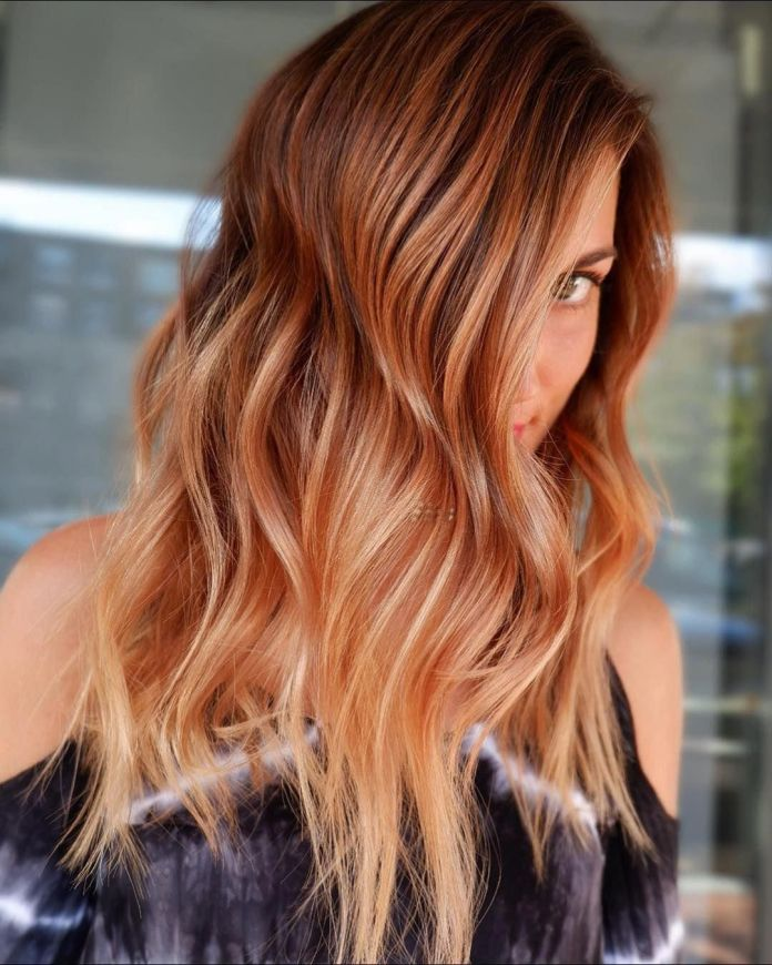 Peach-Cobbler-Hair-Color 21 Hair Color Trends 2020 to Glam Up Your Tresses