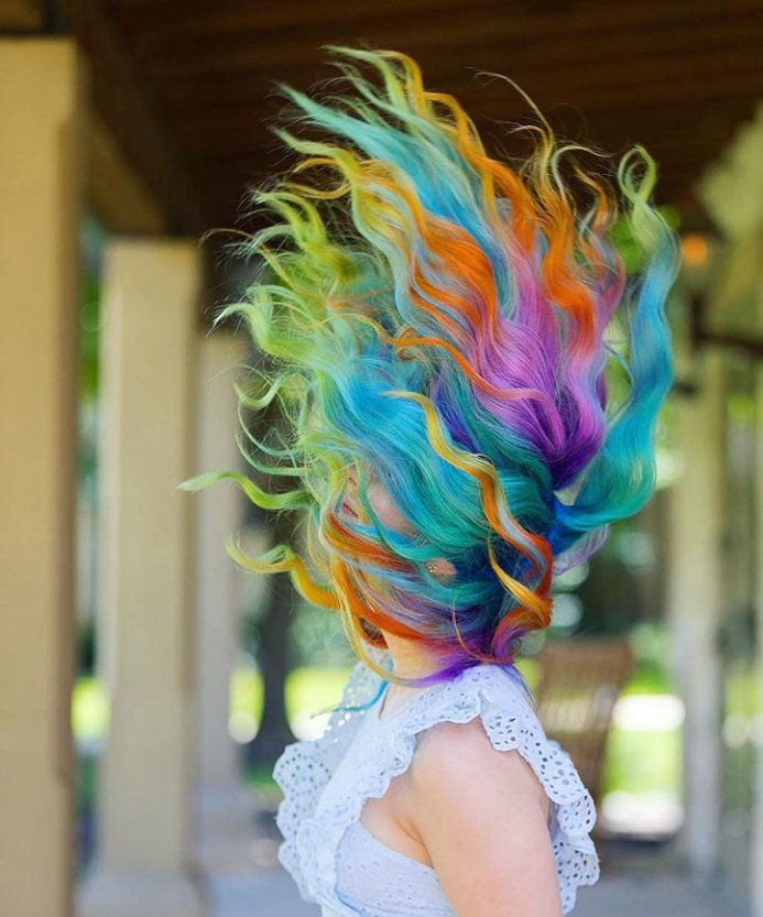 Rainbow-Hair-Color 21 Hair Color Trends 2020 to Glam Up Your Tresses