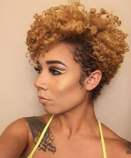 Short-Natural-Hair 33 Short Curly Natural Hairstyles for Black Women