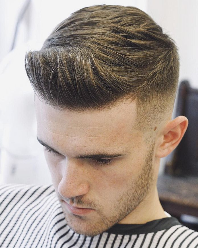 Short-Quiff-with-Faded-Sides 25 Quiff Hairstyles for Ultra Modern Look
