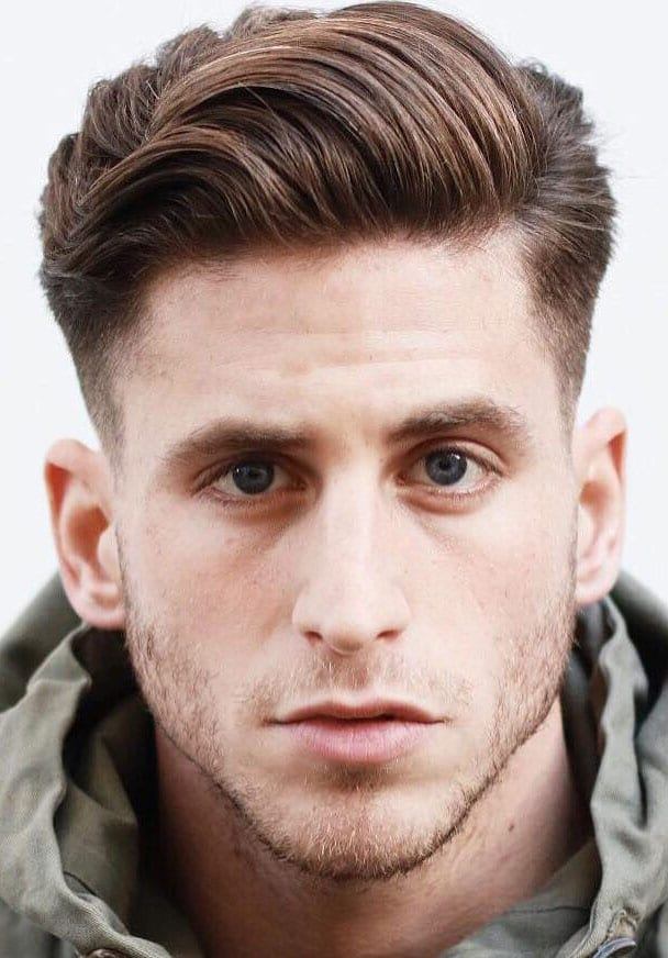 Side-Parted-Swiped-Up-Quiff 25 Quiff Hairstyles for Ultra Modern Look