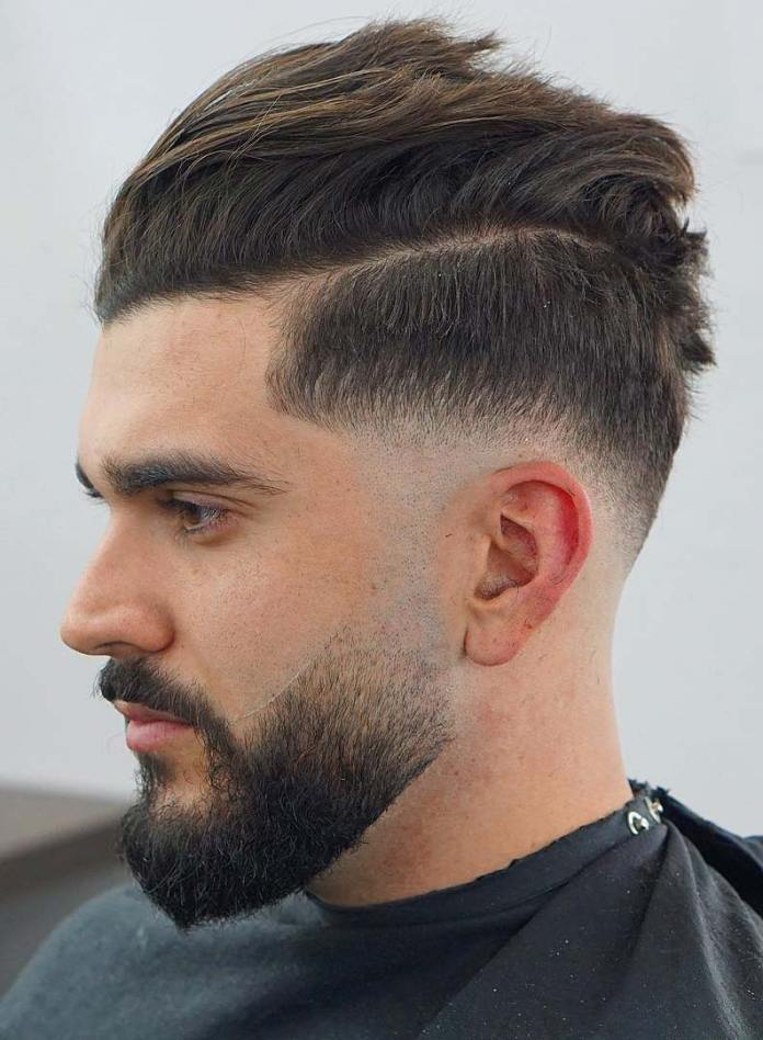 Skin-Drop-Fade Drop Fade Haircut for an Ultimate Stylish Look