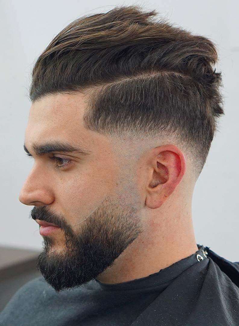 Skin-Drop-Fade Drop Fade Haircut for an Ultimate Stylish Look